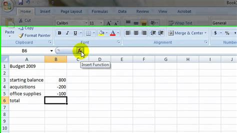 How To Make A Simple Excel Spreadsheet by Simple Budget In Excel