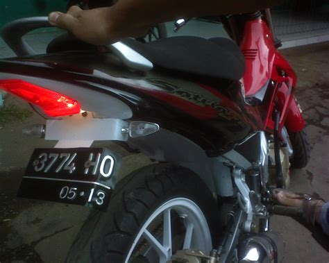 Switch Rem Belakang Satria Fu pasang switch rem belakang di footstep underbone my simple journey