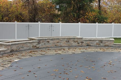 a and j landscaping a and j porfilio landscape co seating wall and planter around pool a and j porfilio