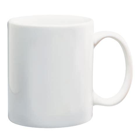 #7124   11 Oz. White Ceramic Mug