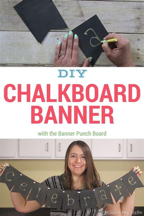 Diy Banner 1 diy chalkboard banner 1 the crafty stalker