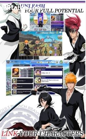 download game bleach mod apk offline game action rpg anime android bleach brave souls mod apk