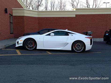 lexus lfa spotted in montreal canada on 07 11 2014