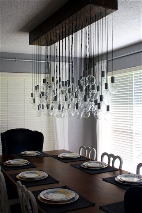 Diy Dining Room Light Fixtures by 116 Best Images About Crafts Light Bulbs On