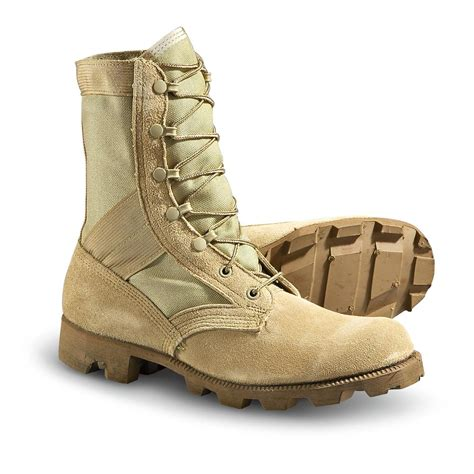 Kickers Boots Army used u s weather combat boots desert