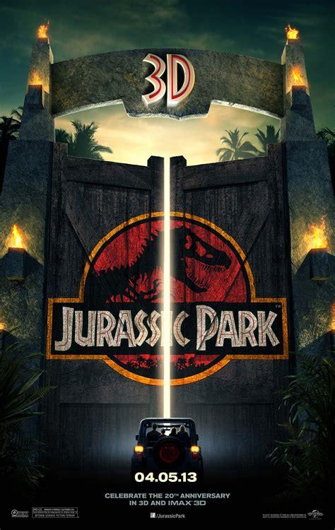 film jurassic park fresh poster and trailer tease jurassic park 3d cnet