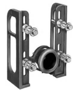js16123 josam 16123 floor mount pvc adapter type by