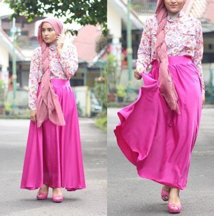 tutorial hijab joyagh busana muslim trendy 10 hijabers indonesia yang populer
