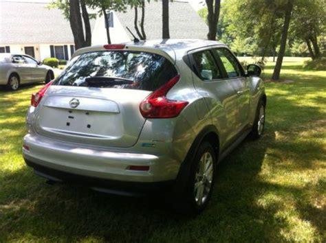 nissan juke 4 wheel drive sell used 2012 nissan juke silver all wheel drive in