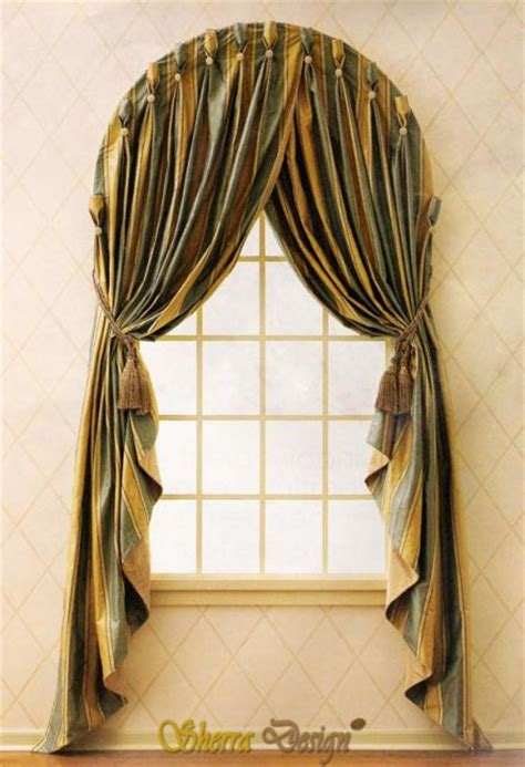 classical bedroom curtain curved window treatments pinterest valance arch and bedrooms 17 best images about window treatments for arches on