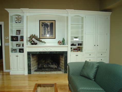 fireplace surround  wall unit