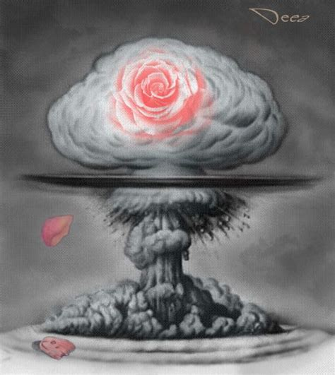 mushroom cloud tattoo cloud by miorlolau atomic
