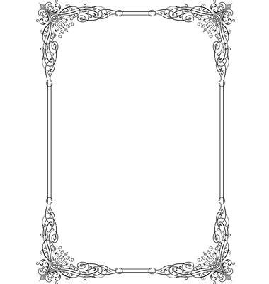 7 best images of elegant printable labels elegant elegant frame vector labels frames pinterest diy