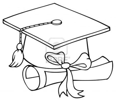 coloring page graduation 17 best ideas about graduation cap clipart on