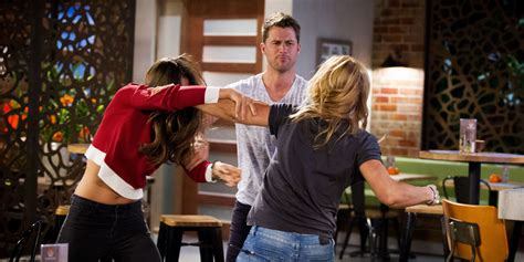 Gamis Amanda Set neighbours spoiler and steph a catfight at the