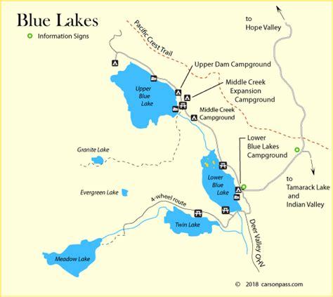california map lakes image gallery lakes in california
