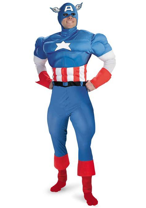 Costum Captain America captain america costume