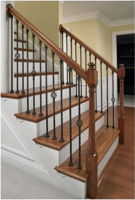 Metal Banister Spindles by 17 Best Ideas About Stair Spindles On Wrought