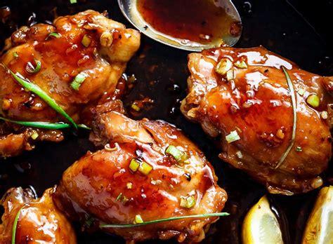 cuisiner haut de cuisse de poulet recette facile de haut de cuisse de poulet 224 la sauce teriyaki