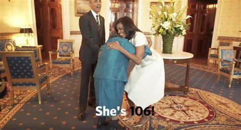 biggest womens virgina barack obama s biggest fan is a 106 year old women that