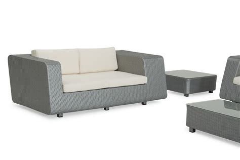 renava morocco outdoor silver sofa set