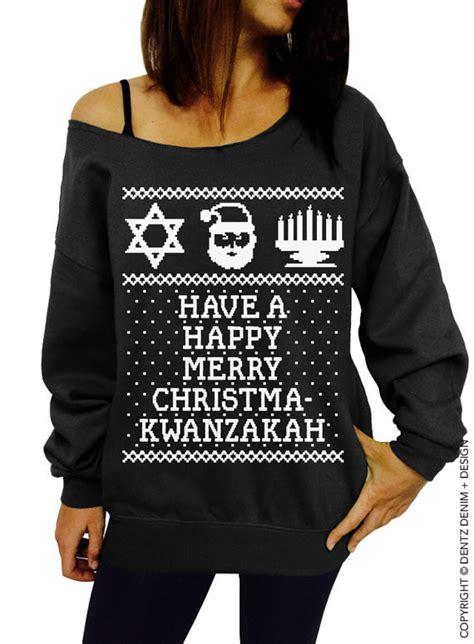 ugly christmas kwanzaa hanukkah sweater  ultimate ugly christmas sweater guide livingly