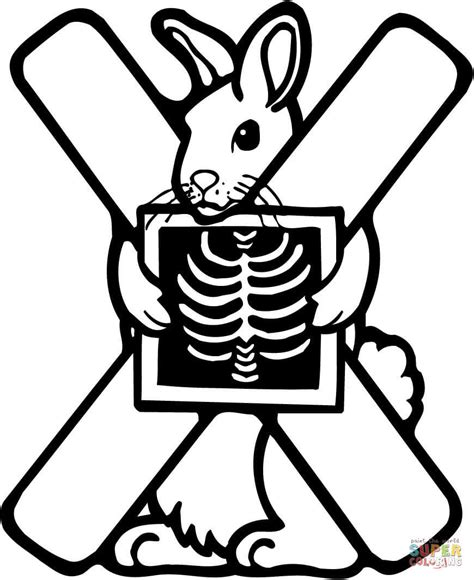 X Ray Coloring Pages Coloring Home X Colouring Pages