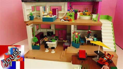 chambre d enfant de luxe villa de luxe playmobil avec piscine cuisine sale de
