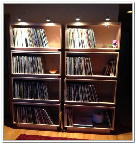 Records Shelf by Record Storage Ideas Homesfeed