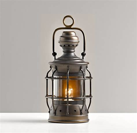 Mini Lantern Lights by Mini Vintage Lantern Antique Bronze