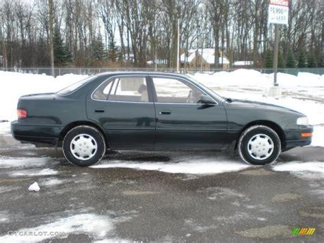 1994 Toyota Camry Le Emerald Pearl 1994 Toyota Camry Le Sedan Exterior