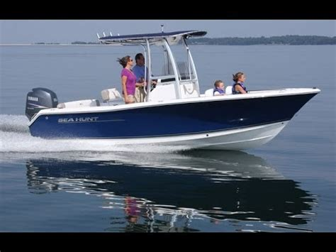 sea hunt boats videos sea hunt boats sea hunt ultra 211 center console youtube