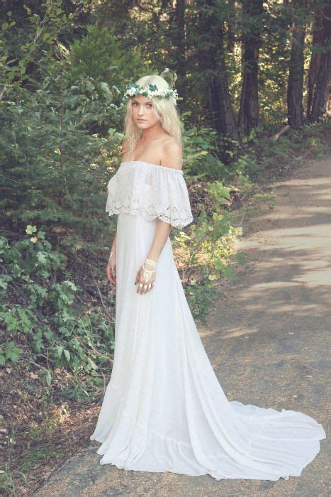 beauty lace bohemian wedding dress designs top