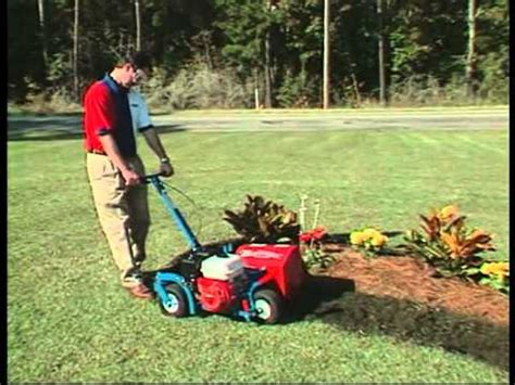 ez trench bed edger e z trench bedscaper bed edgers youtube