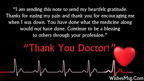 thank you letter to doctor for saving thank you messages for doctor appreciation notes wishesmsg