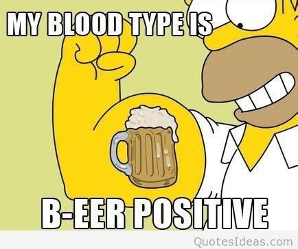 Beer Funny Cartoon Positive
