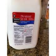 market pantry 2 reduced milk calories nutrition