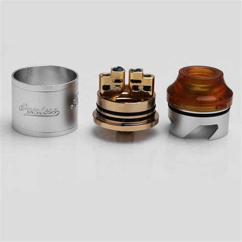 Prometheus Rda Rebuildable Atomizer authentic geekvape peerless silver ss rda rebuildable atomizer