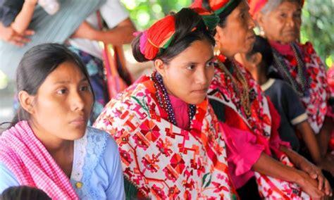 imagenes de mujeres indigenas fijan lineamientos para operar el programa de derechos