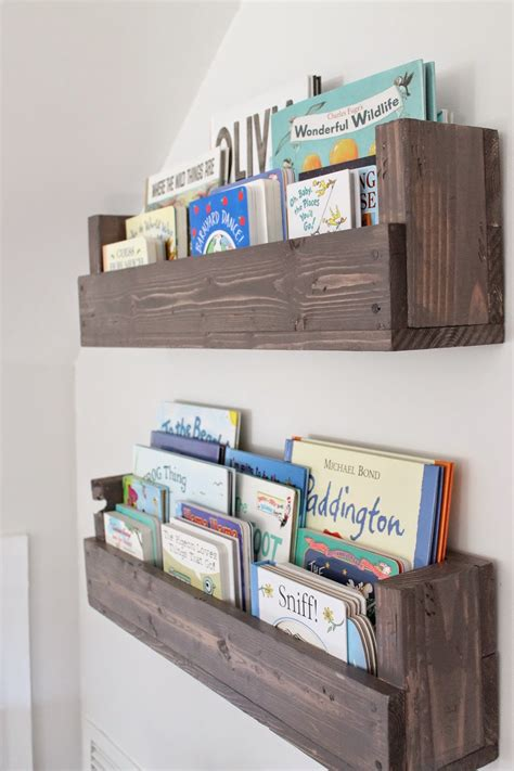 The Picket Fence Projects Baby S Book Nook Bookshelves For Nursery