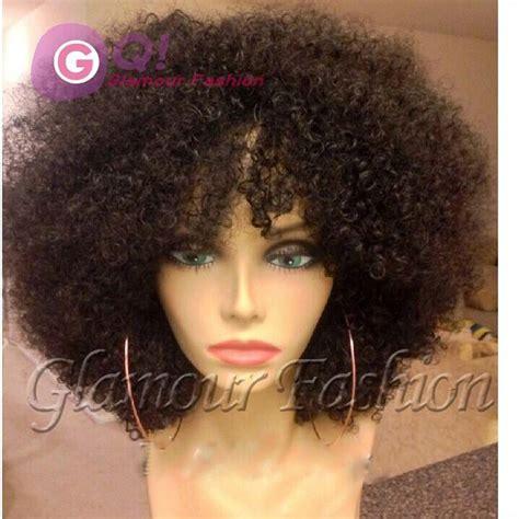 kinky bobs gq new haircut short kinky curly bob wigs human hair afro