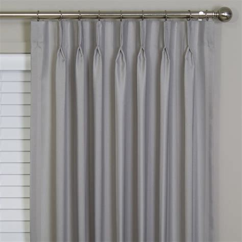 pinched drapes buy boulevard blockout pinch pleat curtains online decor2go