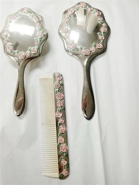 Set Comb Mirror 1000 images about antique brush comb mirror on
