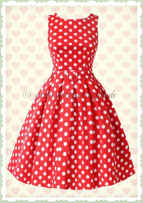 kleid gepunktet punkte polka dots kleider www different dressed de