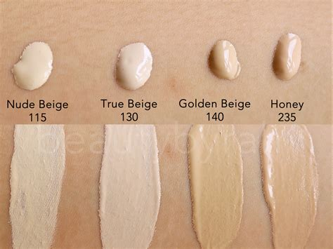 Golden Color Shades by Get Party Ready L Oreal Infallible 24h Stay Fresh