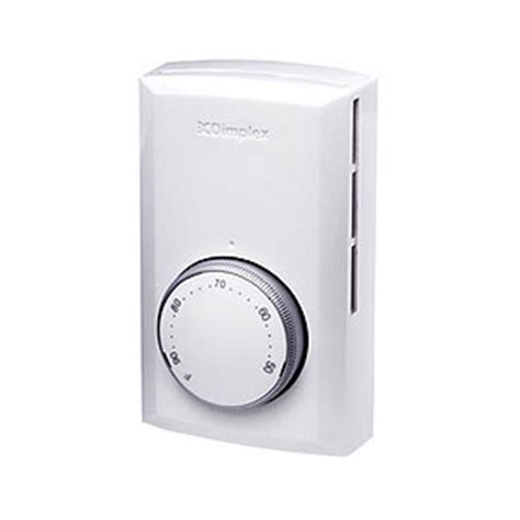 Wall Mounted Electric Fireplace With Thermostat by Dimplex Wall Thermostat White Ts521w