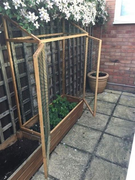 raised enclosed garden bed organicgardeningideas
