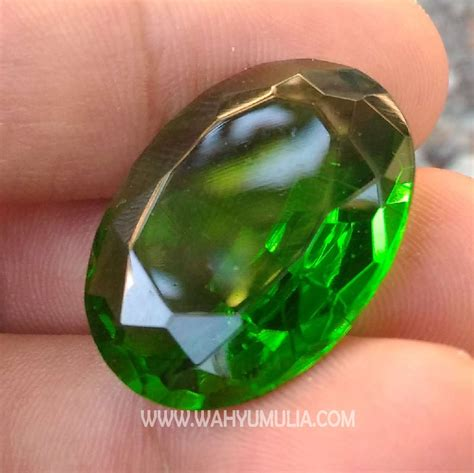 Harga Batu Cincin Meteor Hitam batu green tektit kode 421 wahyu mulia