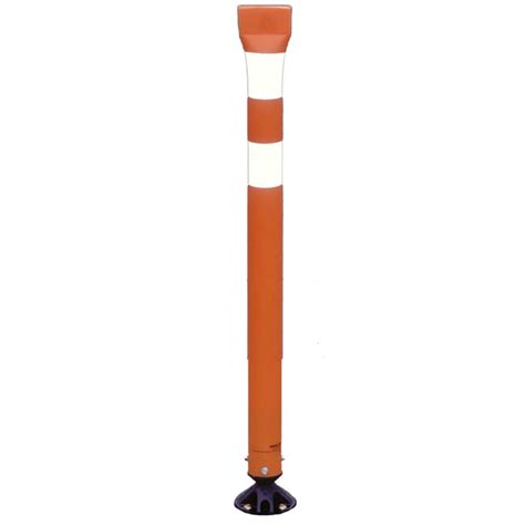 garage parking marker tubular markers impact recovery delineators