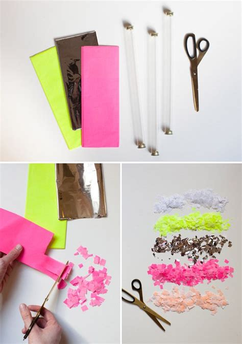 Make Your Own Paper Punch - confetti throwers i m my own confetti